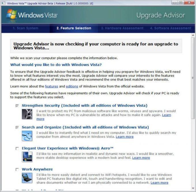 Windows 10 upgrade advisor tool