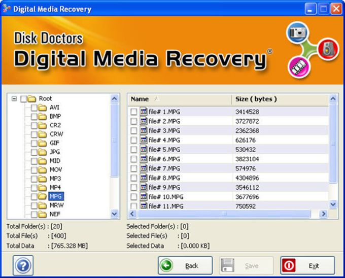 Disk Doctors Digital Media Recovery