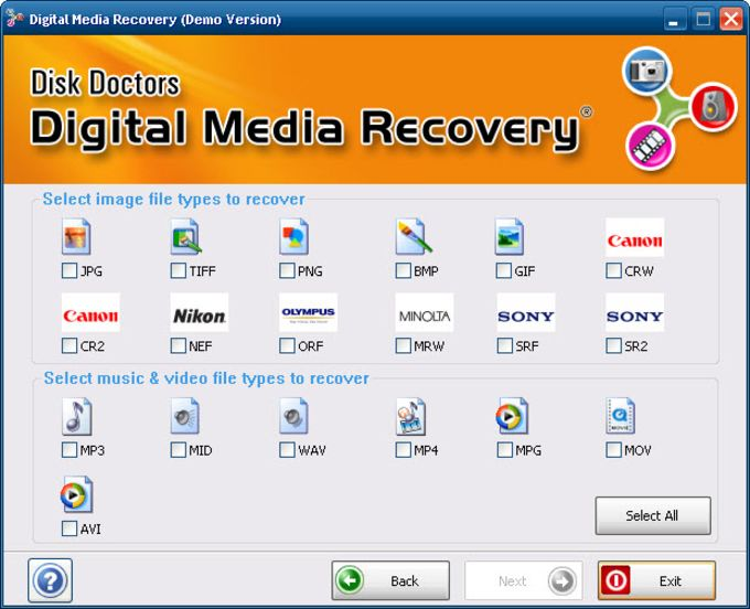 Disk Doctors Digital Media Recovery