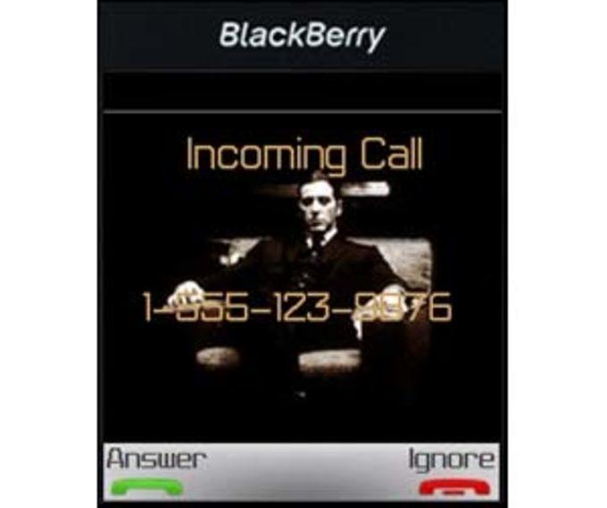 Godfather BlackBerry 8100
