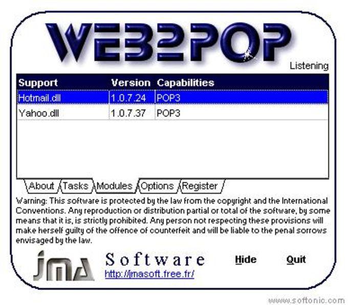 Web2Pop