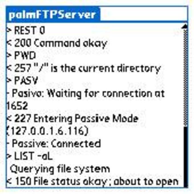palmFTPServer
