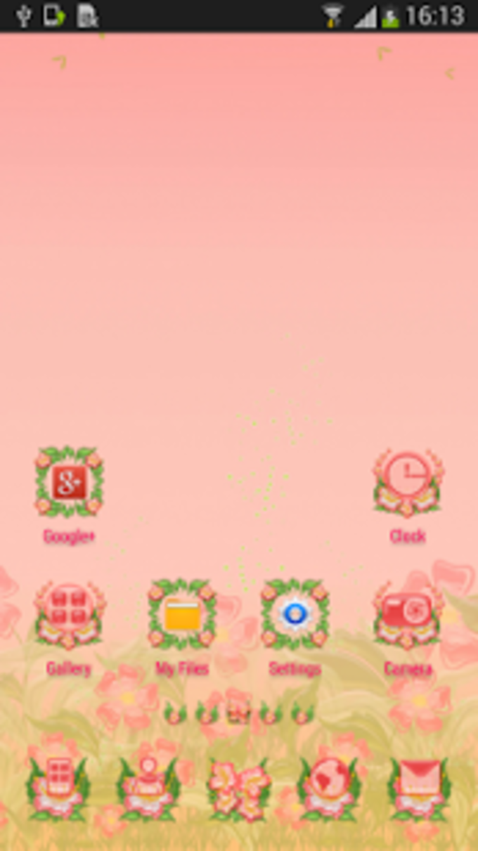 Colorful Theme GO Launcher