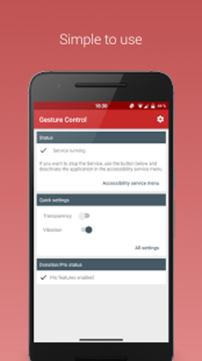 Gesture Control  Pro Key