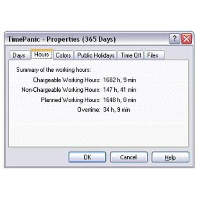 TimePanic para PocketPC