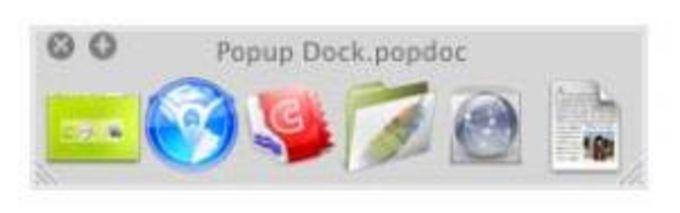 Popup Dock