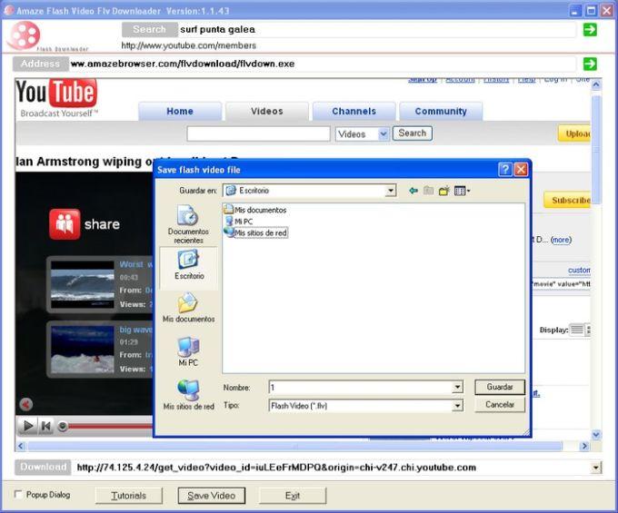 Amaze flv downloader download download and save youtubeflv videos ccuart Images