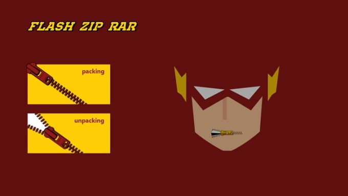 Flash ZIP RAR