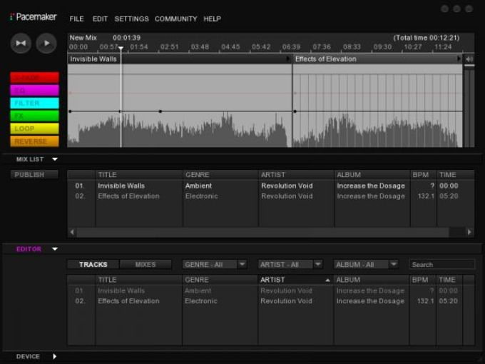 Pacemaker Editor