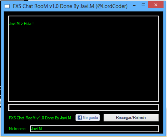 FXS ChatRooM