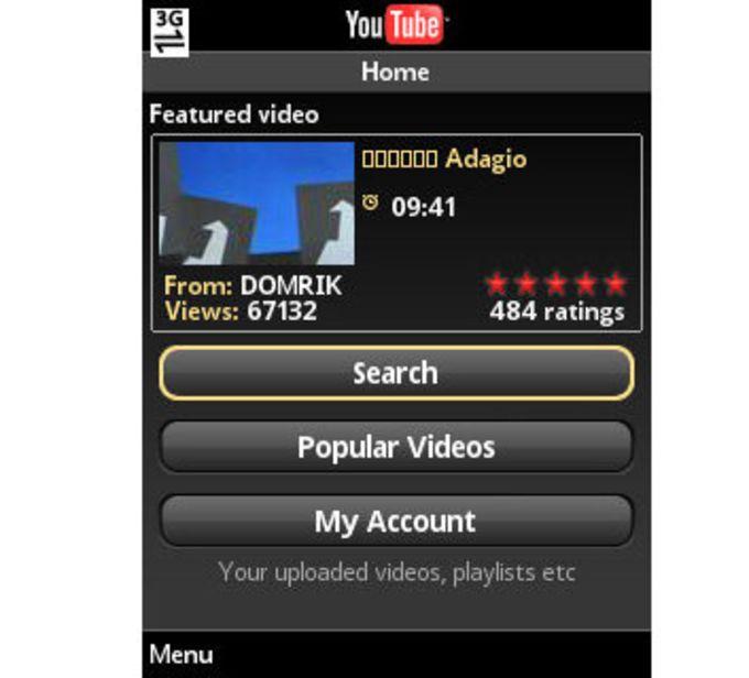 YouTube pour Mobile