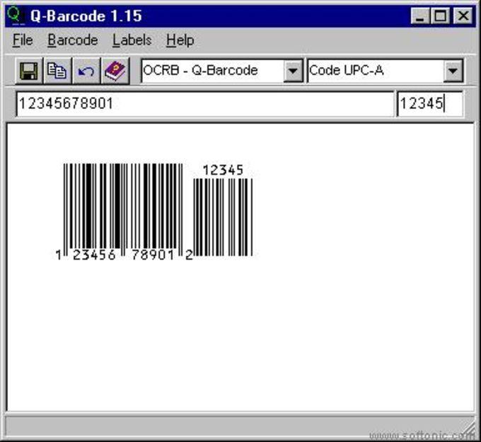 Q-Barcode Bar Code Creator
