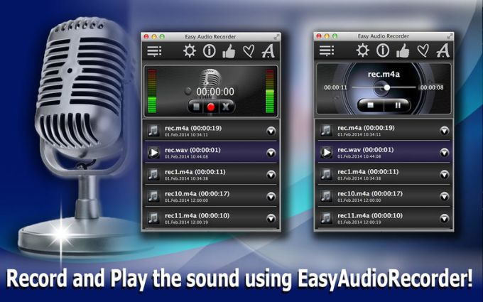 Easy Audio Recorder Lite