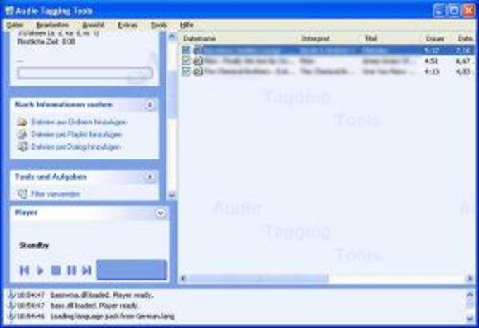 Audio Tagging Tools