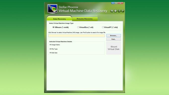 Stellar Phoenix Virtual Machine Data Recovery