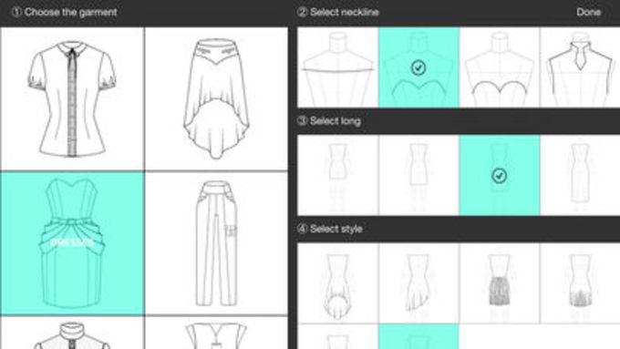 Fashion Design FlatSketch