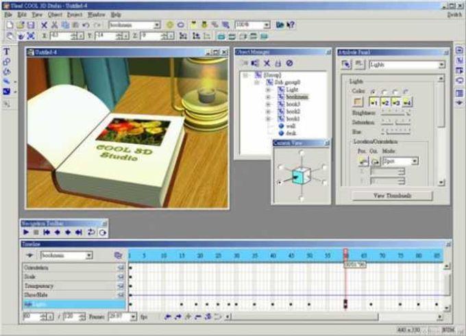 Ulead Cool 3D Production Studio
