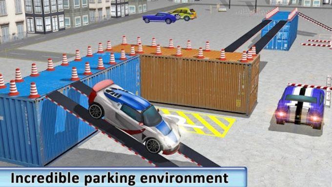 Real Car Drive Parking