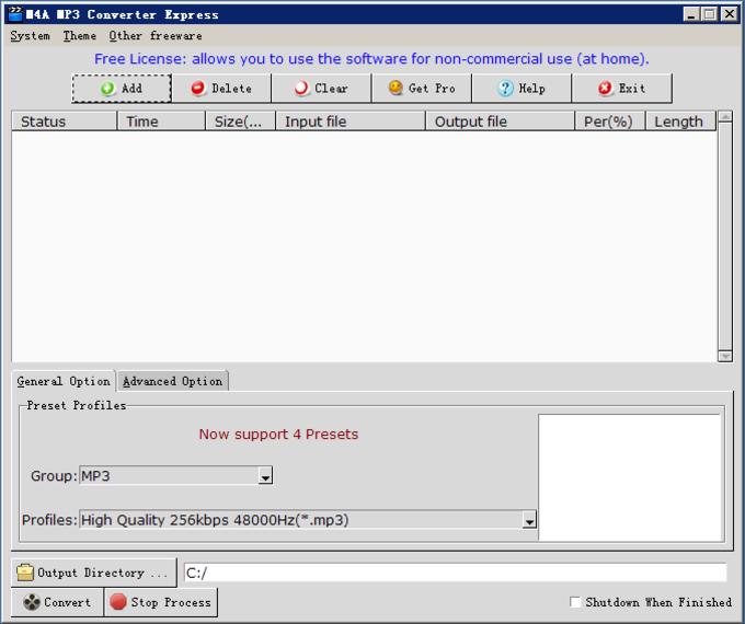 M4A MP3 Converter Express