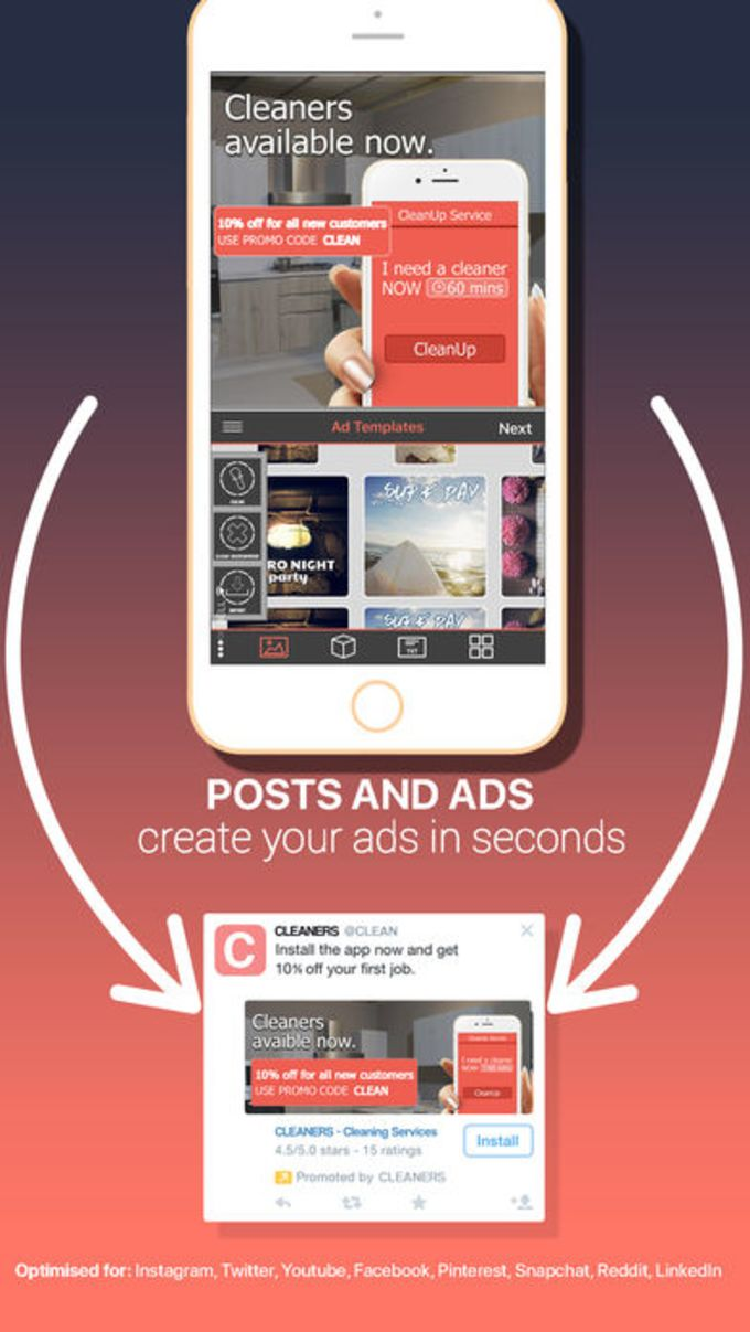 Post & Ad Creator for Social