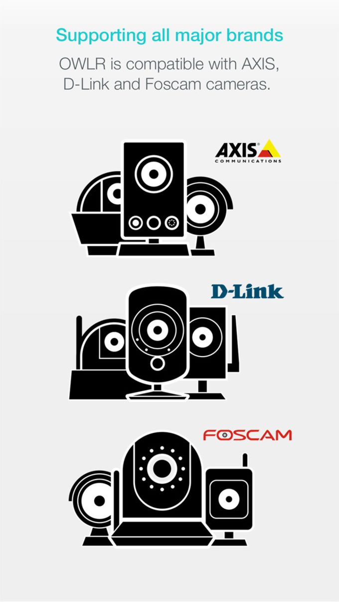 OWLR IP Camera Viewer - Best Free Viewer for Foscam, Axis and D-Link IP Cams