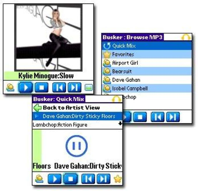 Busker MP3 Player