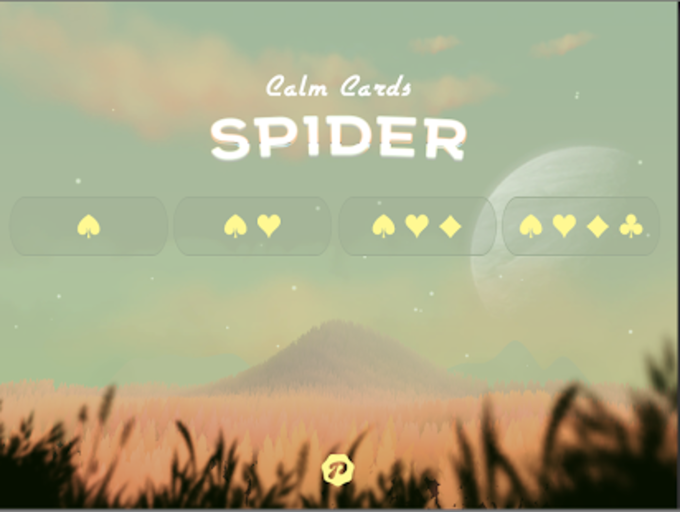 Calm Cards - Spider