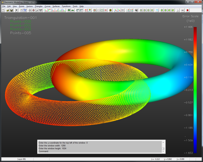 GML - The Geometric Modelling Library