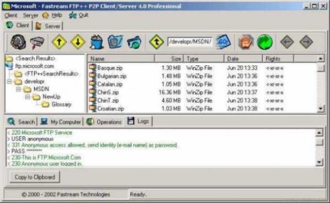 Fastream IQ Web/FTP Server