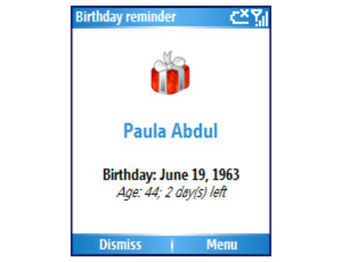 CT Birthday