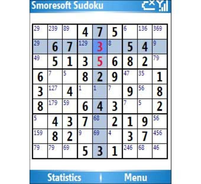 Smoresoft Sudoku