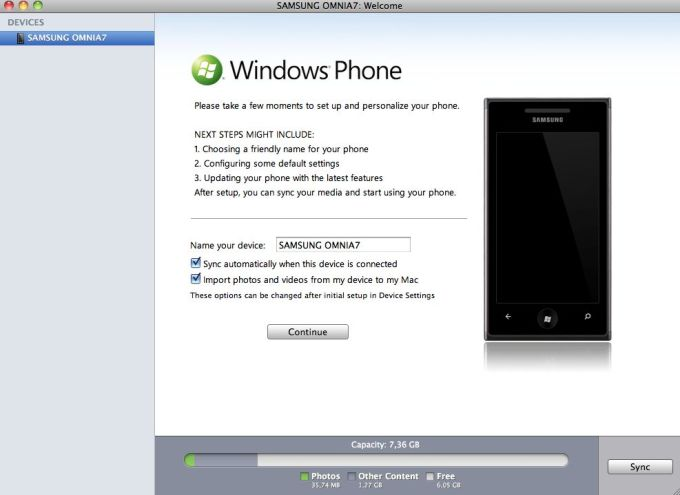 Windows Phone 7 Connector