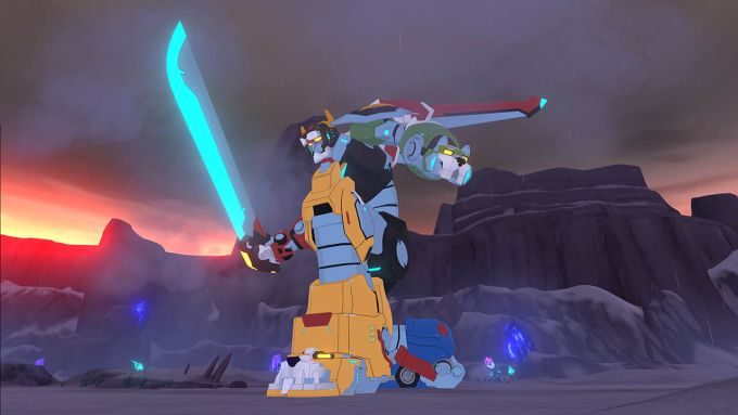 DreamWorks Voltron Chronicles PS VR PS4