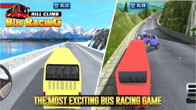 Hill Climb Bus Racing - Bus Driving Simulator 3D