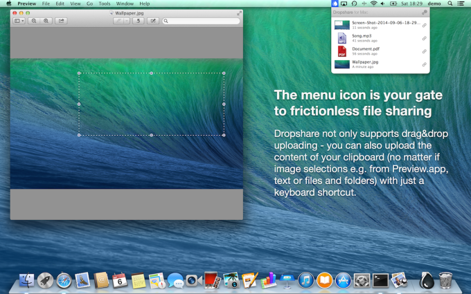 Dropshare for Mac