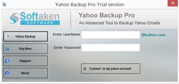 Yahoo Backup Pro