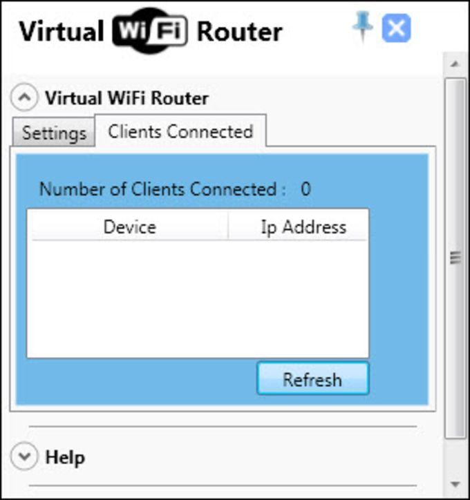 Virtual WiFi Router
