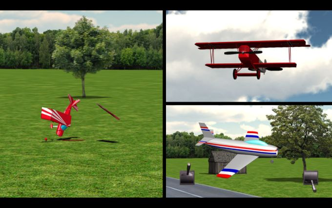 RC-AirSim - RC Model Airplane Flight Simulator