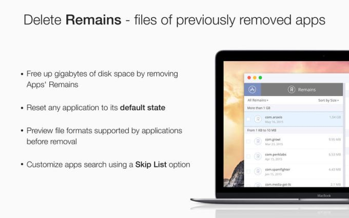 App Cleaner Find and Remove Applications