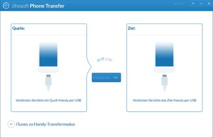 Jihosoft Handy-Datentransfer