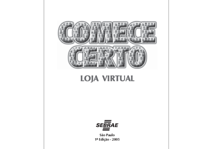 Comece Certo Loja Virtual