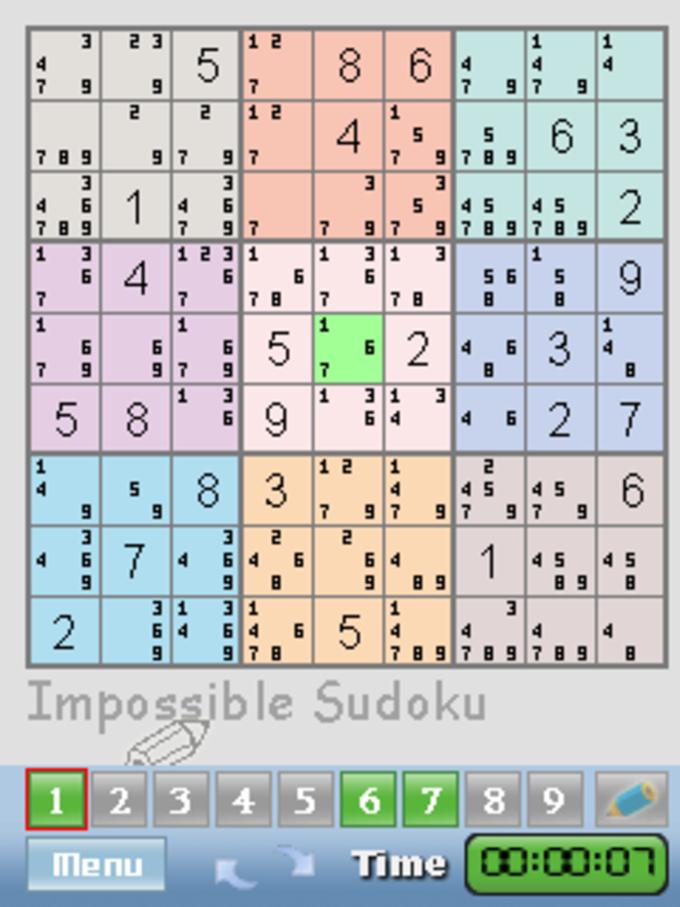 Impossible Sudoku