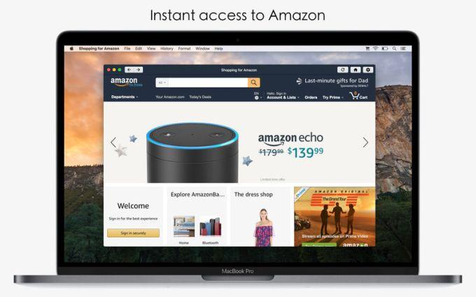 Shopping for Amazon