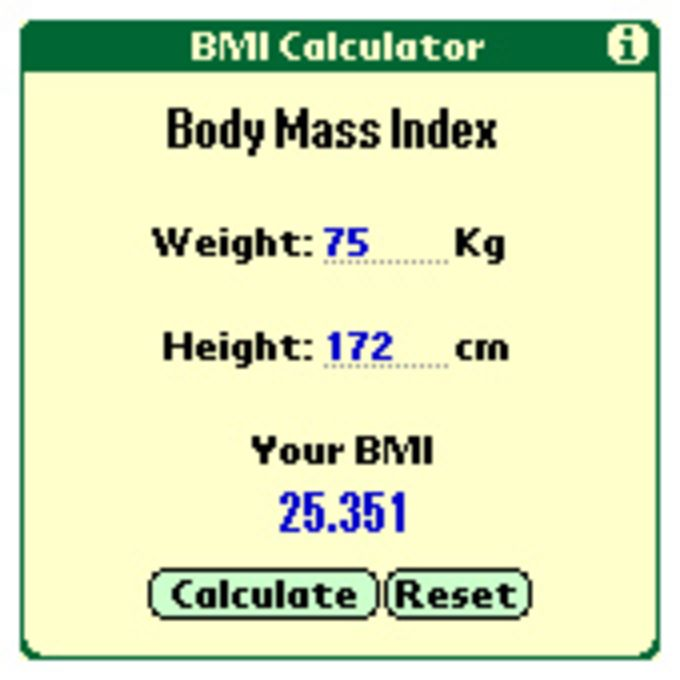 BMI Calculator by Andrew