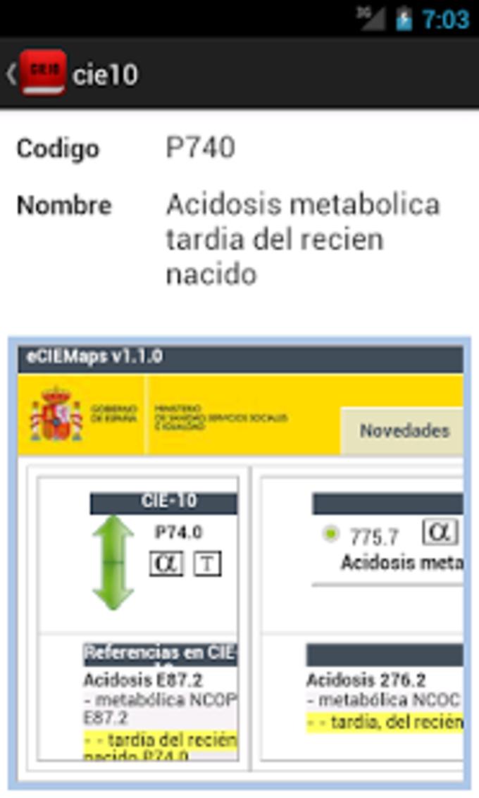 CIE10 Codificación Gratis