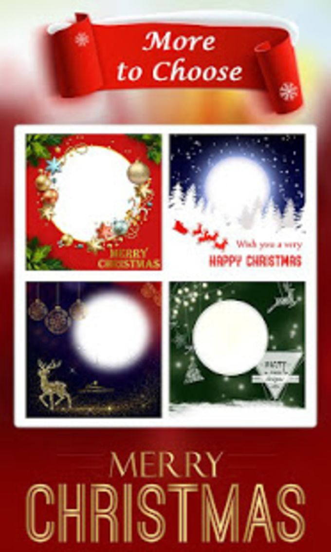 Christmas Photo Frame Cake Photo Card Maker for Android - Download