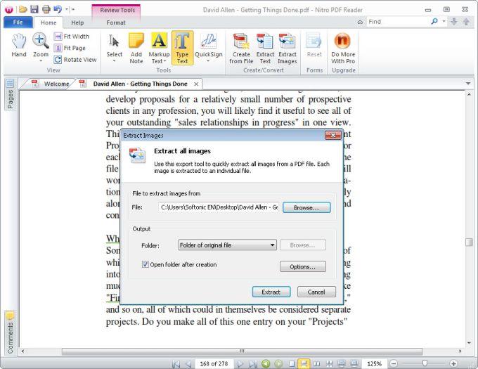 PDF PRINTER NITRO PDF