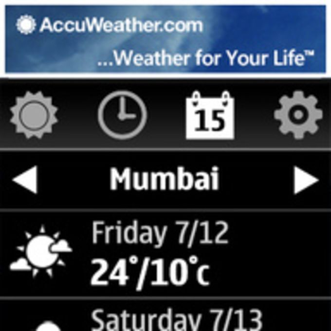 AccuWeather.com WRT Widget
