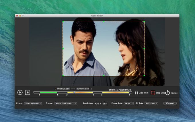 Video Edit - Cut Rotate Crop Mosaics Lite for Mac - Download