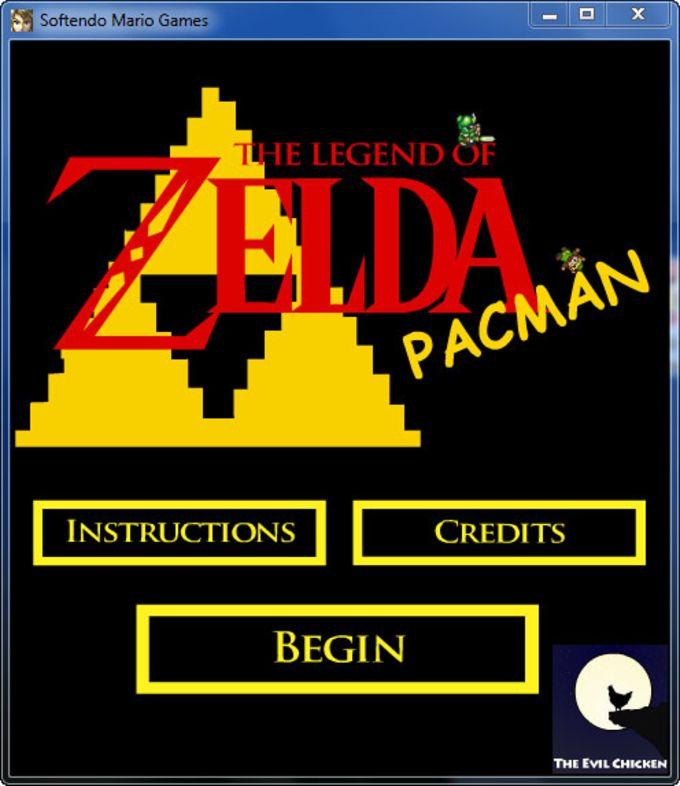 Legend of Zelda Pacman